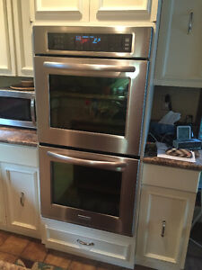 "27"" electric double wall ovens for sale"
