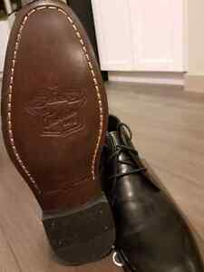 Brand new Florsheim Black Chukka Leather boots mens size 7