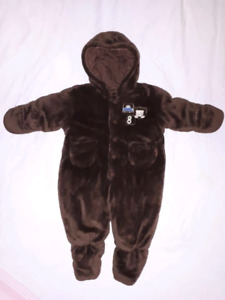 LONDON FOG Baby Bunting Suit CarSeat Safe Size 3/6mts,EUC
