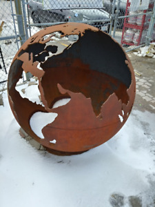 FIRE PLACE GLOBE