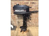 Mercury 4hp outboard just serviced
