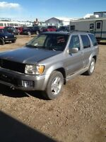 2001 Infiniti qx4 parting out