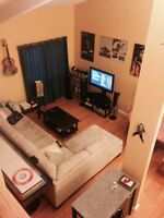 2 1/2 bedroom loft-style condo for rent
