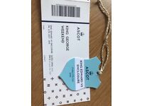 Tickets to Ascot Races- King George Weekend- Friday 27th July 2018