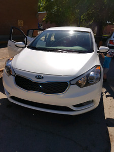 2016 Kia Forte 5 lx+. It is a lease take over
