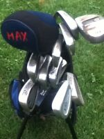 For Sale:  Right Handed Junior Golf Clubs