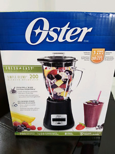 Oster 6cup  8 speed blender NEW