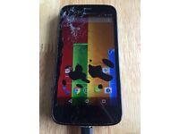 Motorola Moto G 16GB - sim free - cracked screen