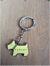 RADLEY YELLOW KEYRING - GREAT CONDITION