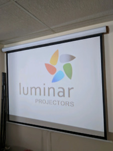 4K LUMINEER PROJECTOR WITH 72INCH SCREEN