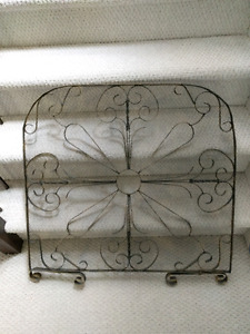 Decorative Fireplace Grate - $20