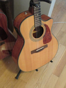 Fender CA 360SCE Acoustic/electric guitar and  hard case