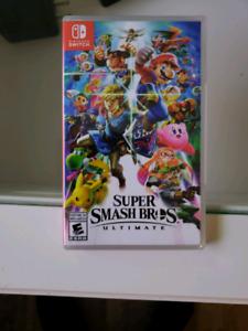 Switch - Super smash bros - sealed copy