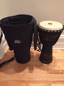 Djembe with bag - Meinl