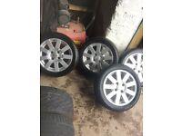 """15"""" Ford puma alloys"""