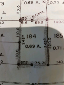 0.69 acre on in Porter Creek