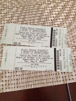 2 tickets to A Night Of Entertainers