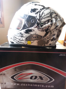 Zox Motorcycle Helmet Size Large