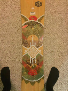New, never used, Arbor snowboard