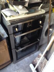 Double oven built in gas