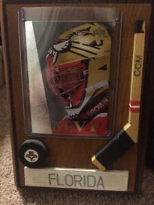 Florida Panthers Wooden Plaque