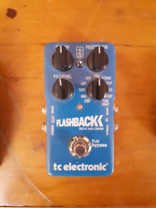 TC Electronic Flashback stereo delay + looper pedal