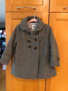 Manteau d'automne en feutre de laine, Old Navy, 18 mois