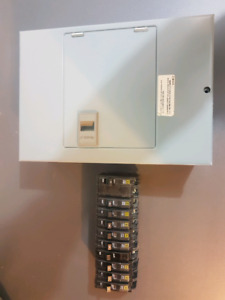 Square D Breakers and  Generator Transfer Switch