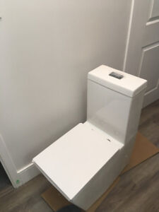 Luxury Crown Verta One Pc Square Modern Toilet (new)