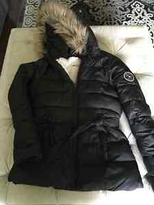 Abercrombie down filled girls winter coat. Size xl