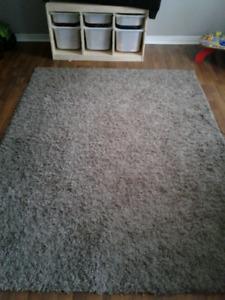Grey 5x7 area rug