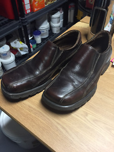 Mens Brown Aldo Leather Loafers (Size 10.5) $15