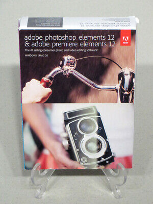 VGC! Adobe Photoshop and Premiere Elements 12 with Serial Number / Product Key!