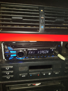 Sony MEX-BT3100P sound deck w/ SIRIUS & BLUETOOTH USB AUX