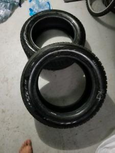 bridgestone blizzak ws80 -225/55/17 winters tires