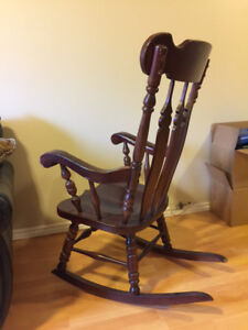 Vilas Wood Rocking Chair For Sale