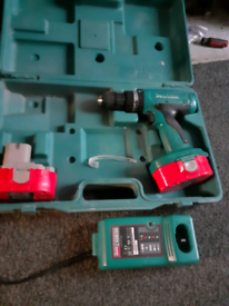 MAKITA DRILL for sale with charger and carry case