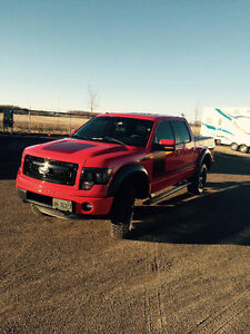 2013 F150 Racing Red Fully Loaded Appearance Package. 4 inch lif