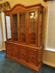 *Reduced* Antique cabinet - premium oak