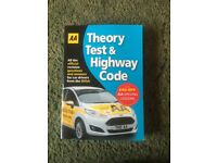AA car theory test book