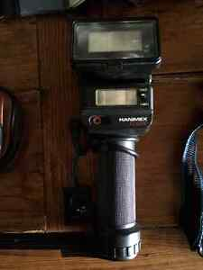 CAMERA ACCESSORIES - flashes, filters, step-up/down rings, bag