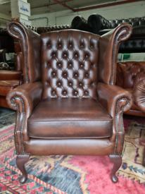 Thomas Lloyd Chesterfield Queen Anne Chair