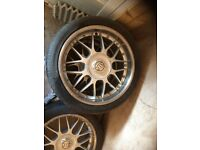 "20"" vw transporter , rangerover, bmw x5 alloys."