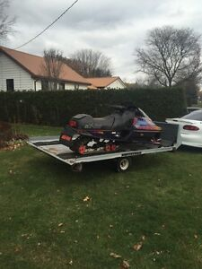 Formia 600 triple and double sled trailer Stratford Kitchener Area image 2