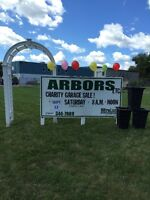 New England Arbros 11th Annual Charity Garage Sale