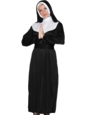 Smi - Karneval Damen Kostüm brave Nonne heilige (Brave Kostüm)