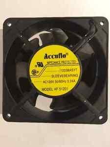 Accuflo AF-51201 Cooling Fan 120V 120mm Kitchener / Waterloo Kitchener Area image 1