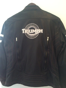 Leather Triumph Motorcycle Jacket
