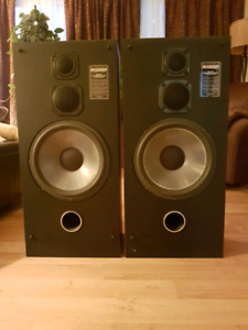 Vintage Accusound QS-4000 Stereo Speakers