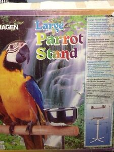 Support a perroquet  Bird stand  Parrot stand